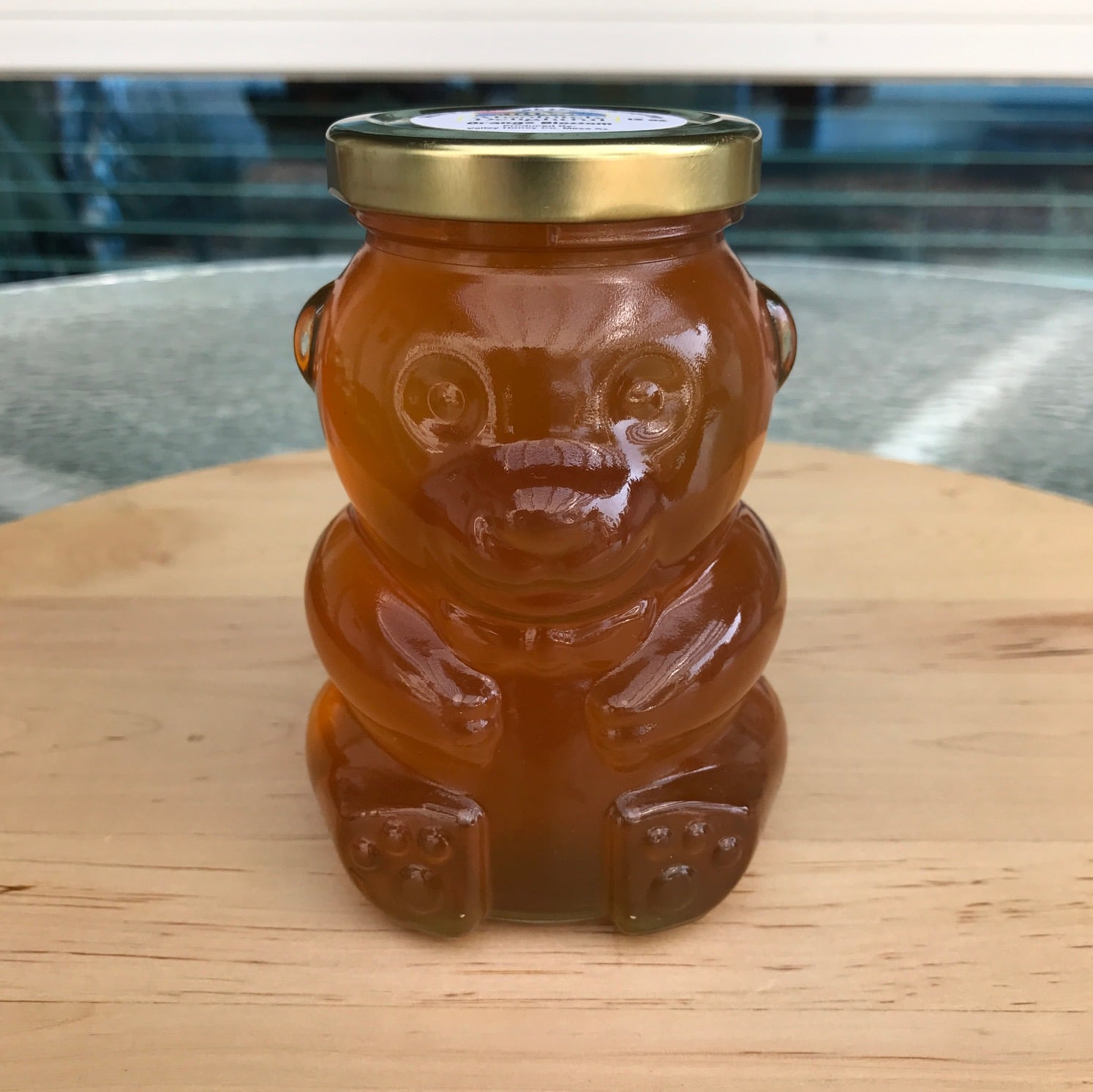 12oz Glass Honey Bear