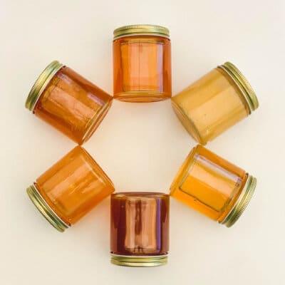 Honey in Glass
