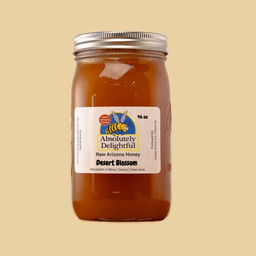 One large jar of crystallized desert blossom honey