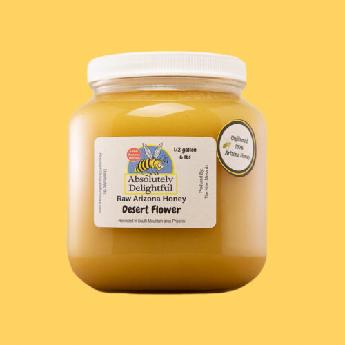 One Half Gallon of Desert Flower Honey