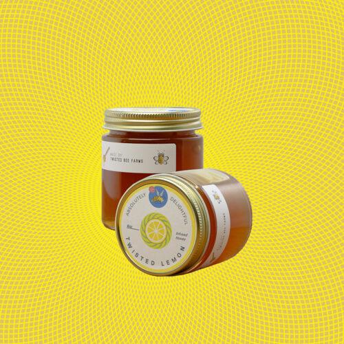 Twisted Lemon Infused Honey